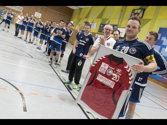 Bericht zum letzten Saisonspiel Herren I und Abschied von Tino Stumps