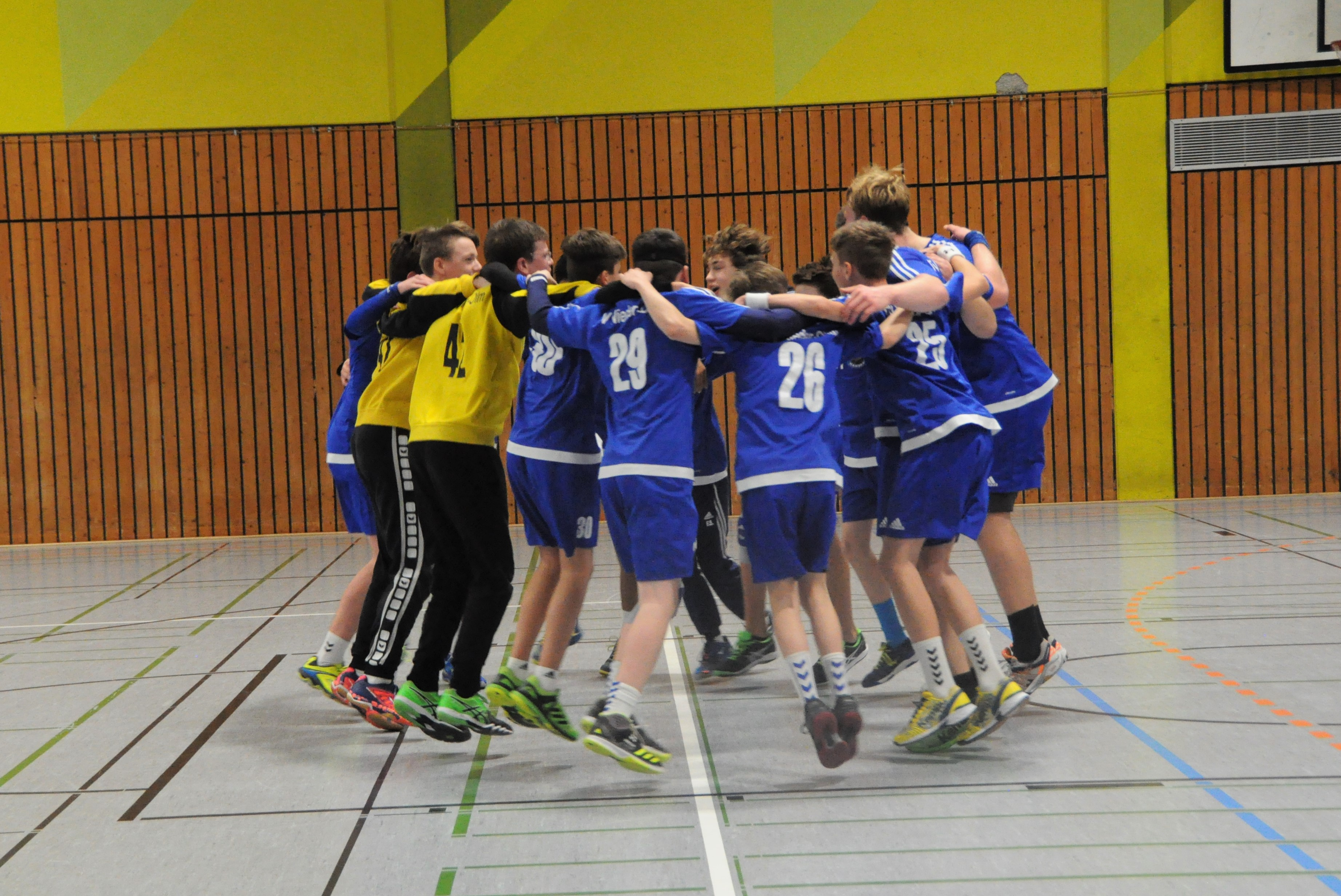 Spannung pur! Männl. C-Jugend Oberliga RPS: TV Nieder-Olm – TV Hochdorf 25:24 (12:10)