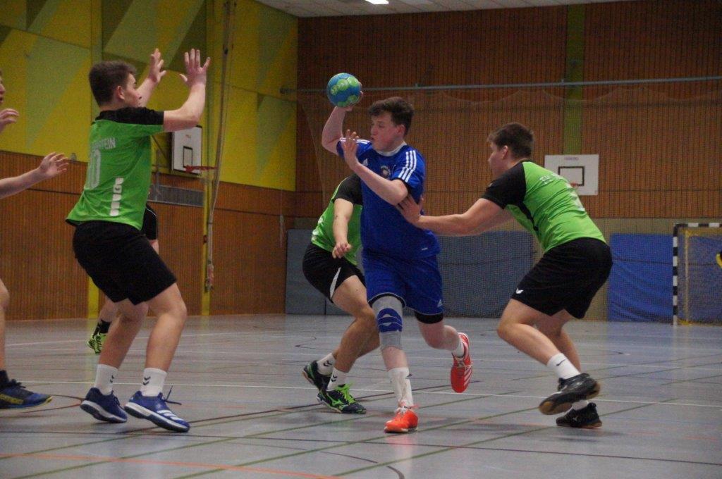 Tabellenführung zurückerobert! männl. B-Jugend Rhh.liga: TV Nieder-Olm – TV Nierstein 32:24 (17:14)