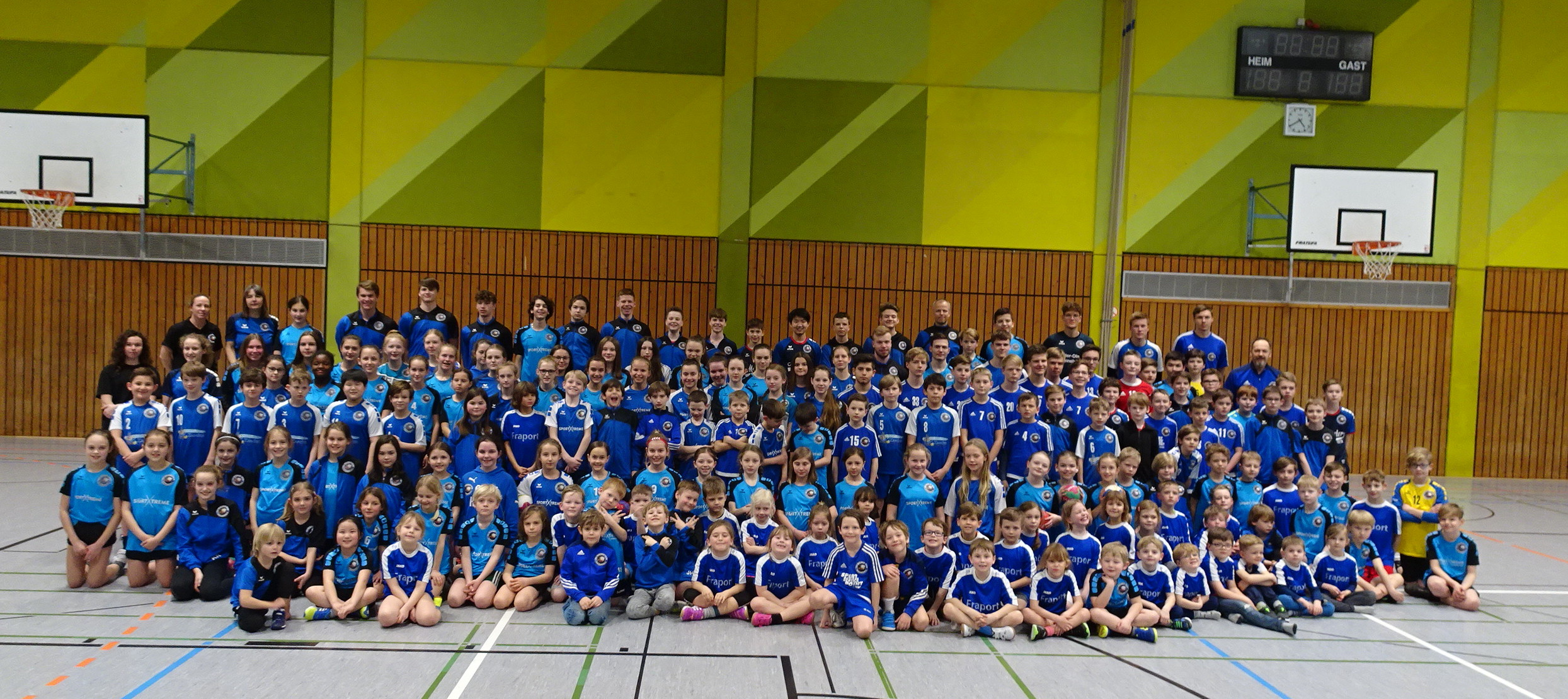 Handball-Grundschulprojekt beim TV Nieder-Olm