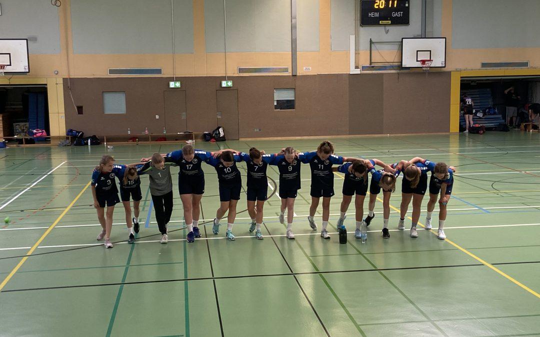 Weibliche C-Jugend, wJSG Eltville/Wiesbaden – TV Nieder-Olm 29:41
